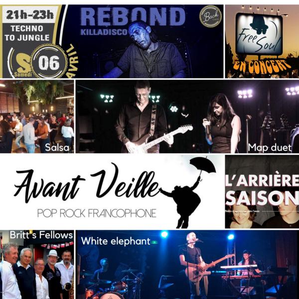 Concerts/spectacles dans les bars