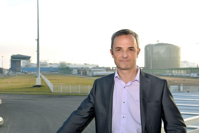 Bruno Michel, directeur du terminal méthanier Elengy de Montoir de Bretagne (©Ville de Saint-Nazaire - Bruno Michel)