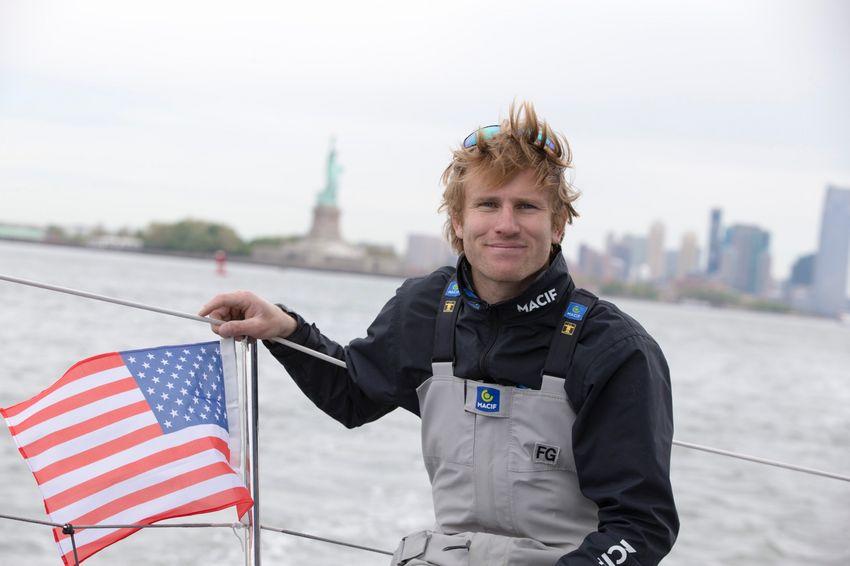 François Gabart prendra le départ de cette course en équipage entouré de trois autres skippers. © Alexis Courcoux / Macif