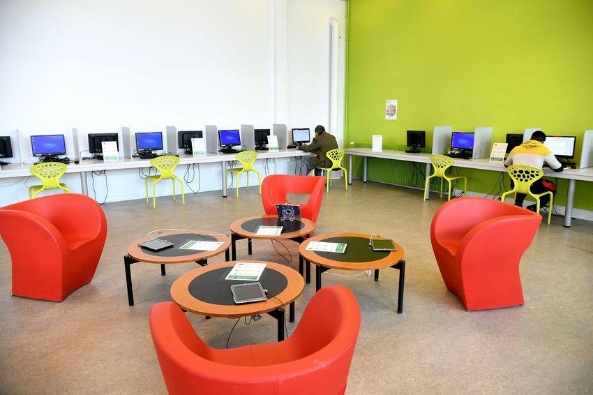 L'espace numérique est accessible sur réservation.