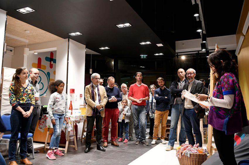 Mercredi 23 octobre dernier, le Blue Lab ouvrait ses portes pour une présentation de ses activités.