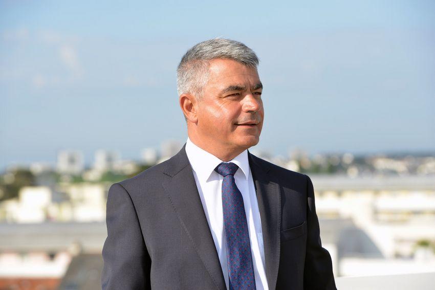 David Samzun, maire de Saint-Nazaire