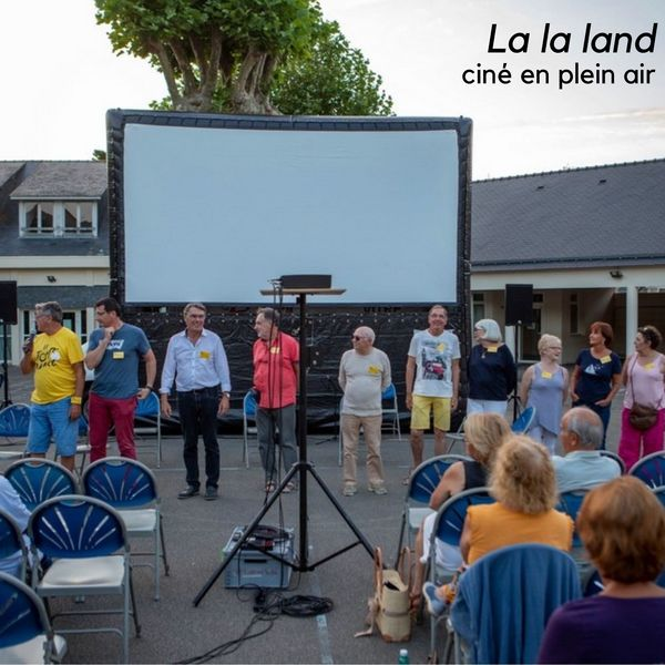 Ciné en plein air : La la land