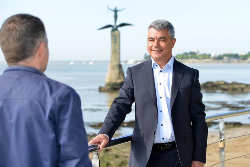 """D. Samzun : """"Nous voulons faire de Saint-Nazaire une ville plaisir pour ceux qui y vivent à l'année et attractive pour ceux qui y séjournent."""""""