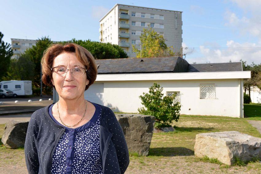 Marie-Claire Drouillet, 67 ans, habitante de Prézégat