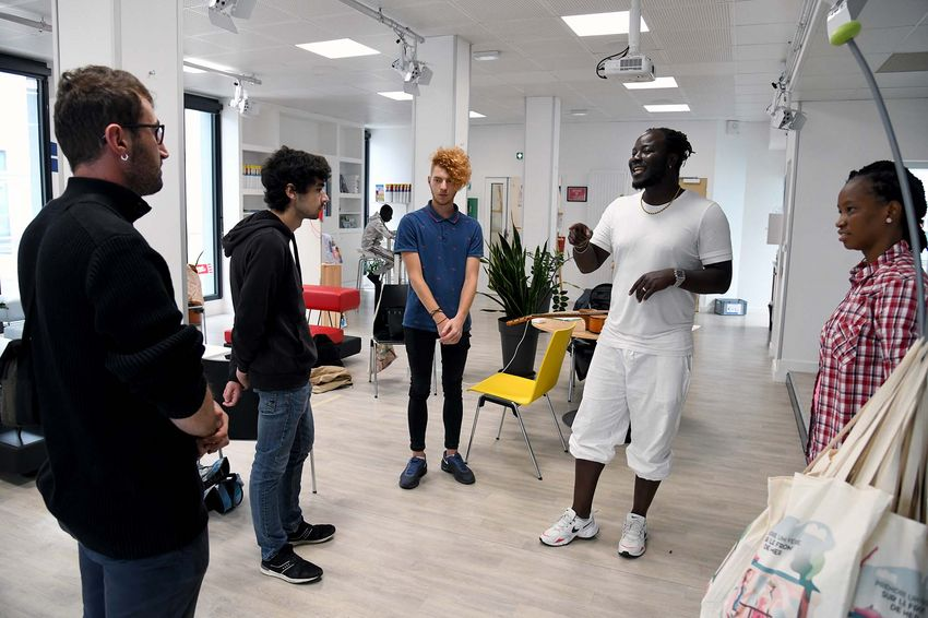 La formation répond à une demande des jeunes. (©Ville de Saint-Nazaire - Christian Robert)