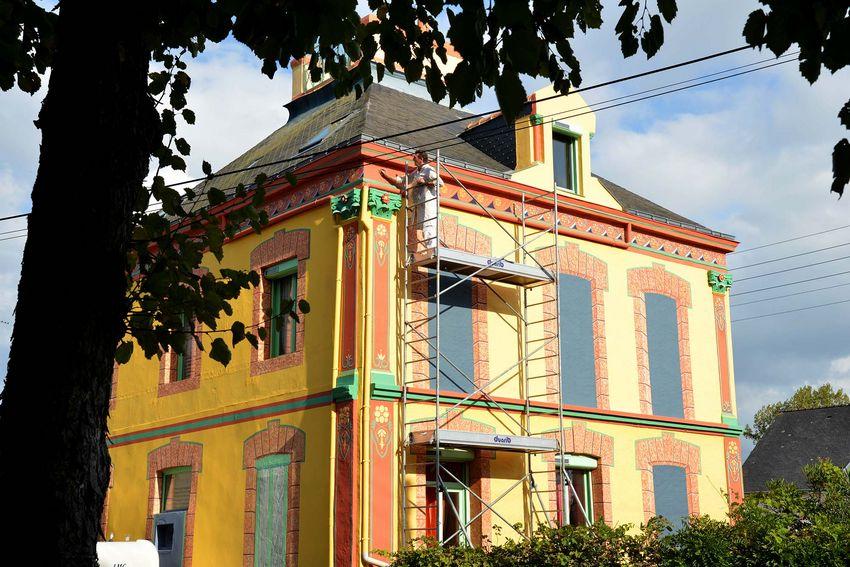 Ancienne maison d'Eugène Labour à Saint-Nazaire. (©Ville de Saint-Nazaire - Christian Robert)