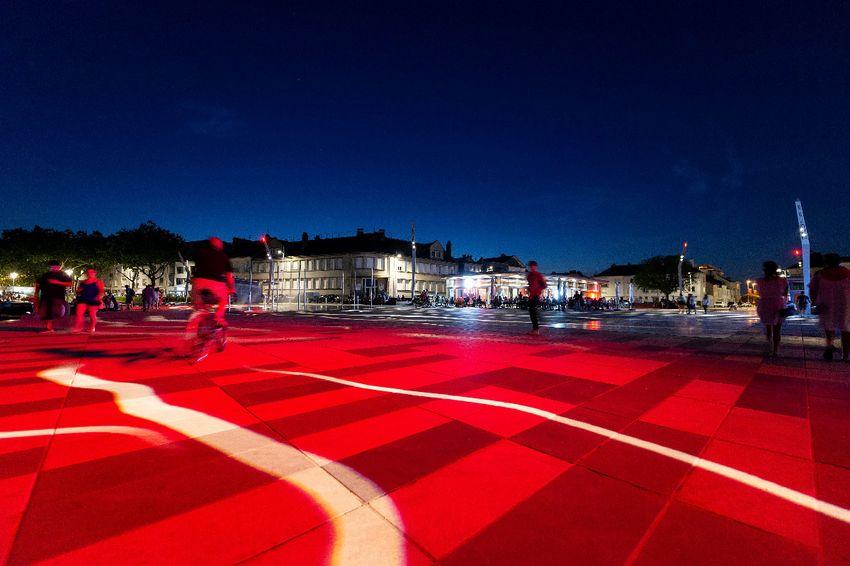 Place du Commando - Crédit : Ville de Saint-Nazaire Martin Launay