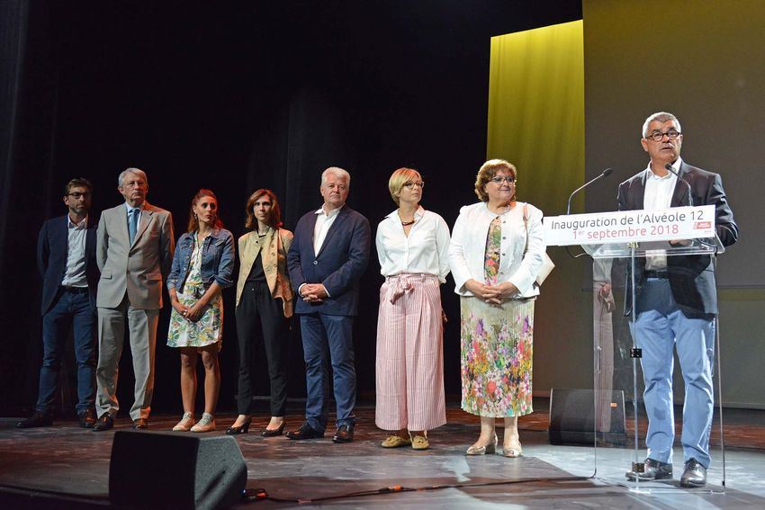 Inauguration de l'Alvéole 12 samedi 1er septembre.