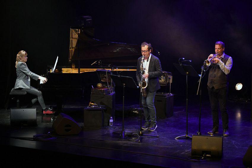 Le saxophoniste Alban Darche (ici avec son groupe Dandy Dandie) fait partie des artistes invités cette saison.