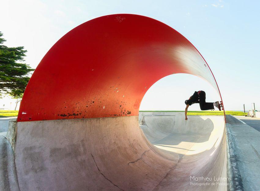 Skate park, Mathieu Lumen