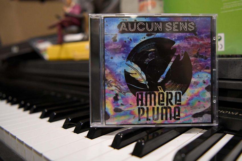 """""""Aucun sens"""", le premier album d'Amère Plume, sort le 11 octobre 2019. (©Ville de Saint-Nazaire - Christian Robert)"""