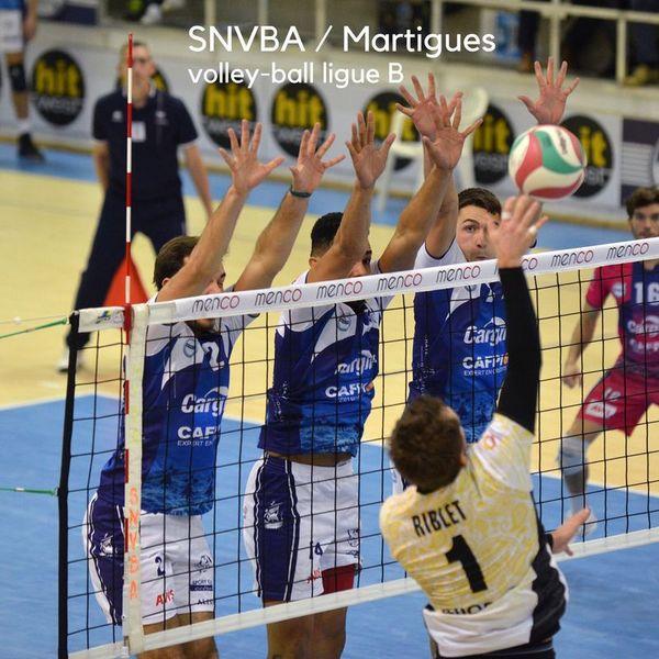 Volley-ball – SNVBA / Martigues