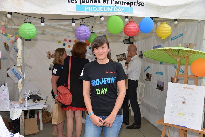 Margaux Frétier a participé au groupe Les jeunes et l'entreprise pour remettre de l'optimisme dans l'orientation et l'insertion professionnelle.