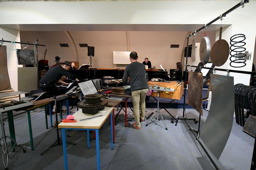 Salle de répétition du Conservatoire de Saint-Nazaire