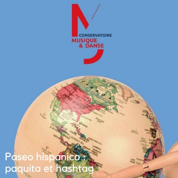 Paseo hispánico : paquita et hashtag