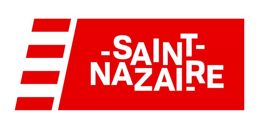 Le nouveau logo de la Ville de Saint-Nazaire. - Agrandir l'image, .PNG 121Ko (fenêtre modale)