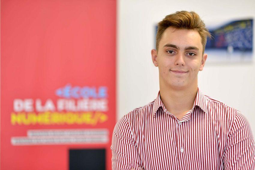 Lucas Maillard, 18 ans