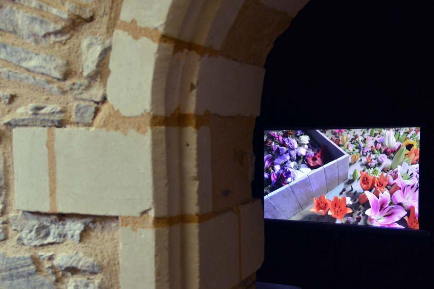 """""""Révolution"""", vidéo de Clément Richem pour l'exposition """"Vogues"""" au Fort de Villès-Martin (©Ville de Saint-Nazaire - Christian Robert)"""