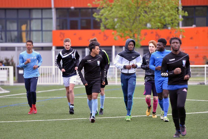 L'équipe U17 de Saint-Nazaire