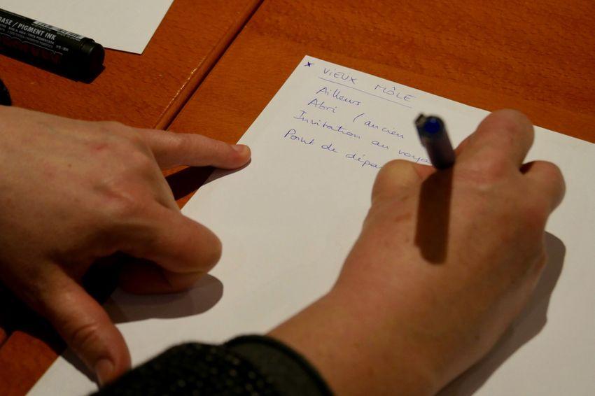 Les idées fusent au sein du groupe (©Ville de Saint-Nazaire)