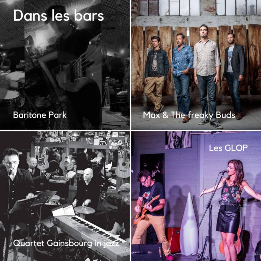 Concerts dans les bars