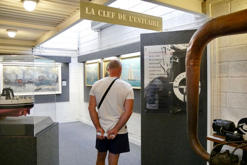 L'écomusée retrace l'histoire de Saint-Nazaire. (©Ville de Saint-Nazaire - Blandine Bouillon)