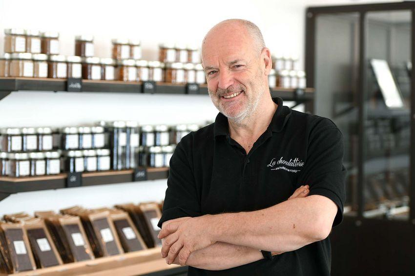 Laurent Kerdoncuff travaille des ingrédients bio, locaux ou équitables.