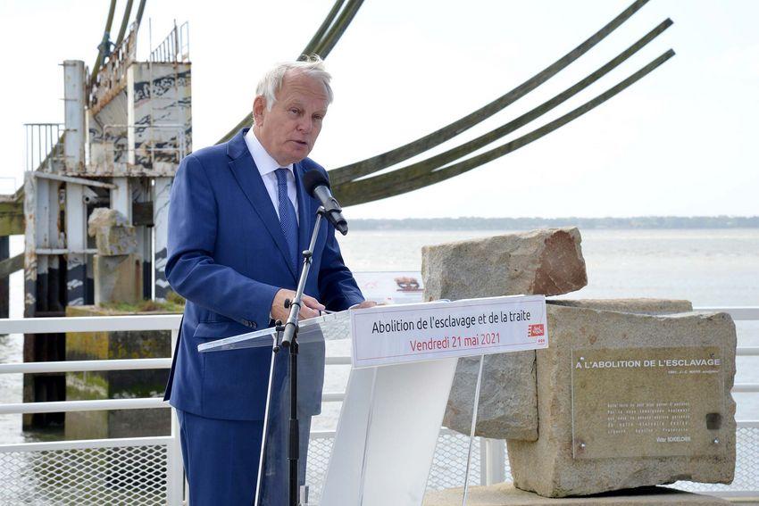 Jean-Marc Ayrault, Président de la Fondation pour la Mémoire de l'abolition de l'esclavage (©Ville de Saint-Nazaire - Christian Robert)