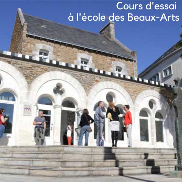 L'école des Beaux-Arts ouvre ses portes