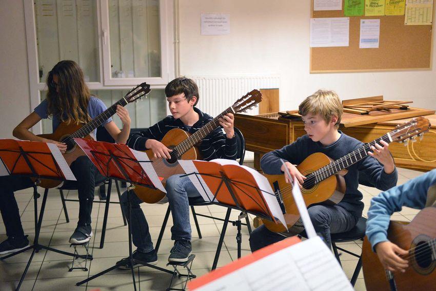 Toute la semaine, les maisons de quartier de Saint-Nazaire accueille des auditions du Conservatoire.