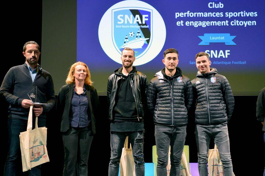 Trophée du jury – Club performances sportives et engagement citoyen – SNAF