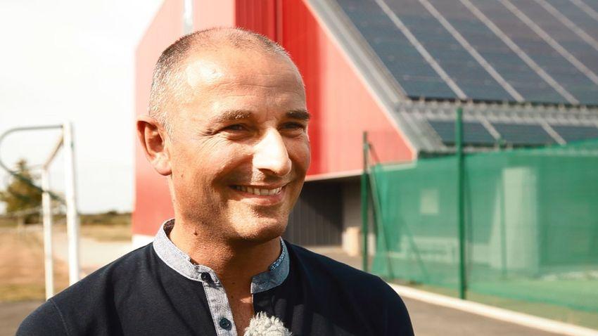 Raphaël Salaun, conseiller municipal de Saint-Joachim.