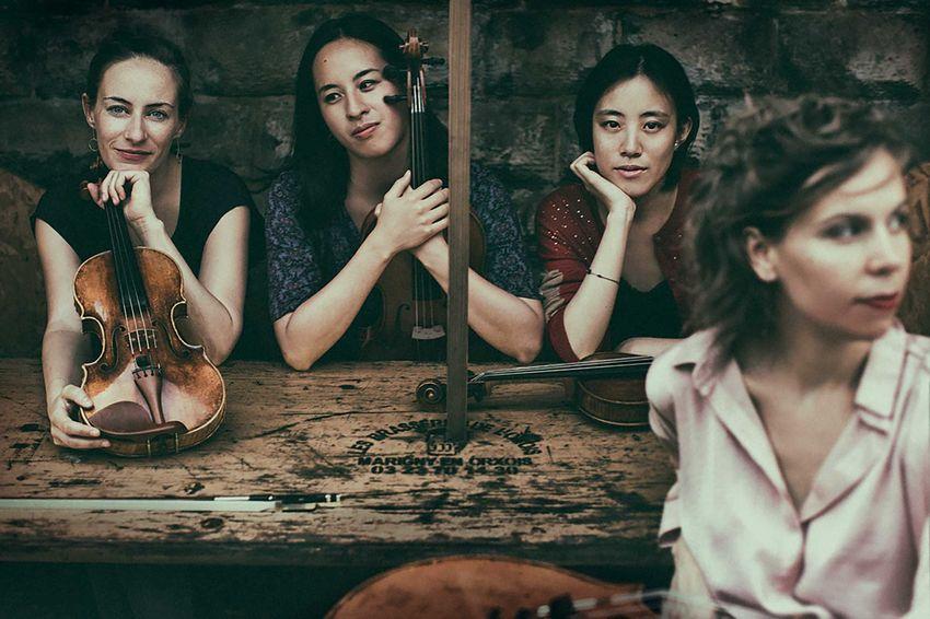 Quatuor Ardeo, dimanche 31, théâtre Jean Bart © franziska-strauss
