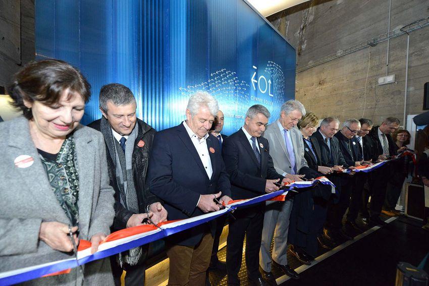 Les élus du territoire et les partenaires du projet ont pu tester en avant-première les dispositifs interactifs.