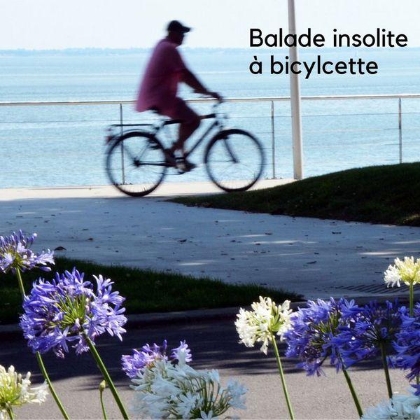 Balade insolite à bicyclette