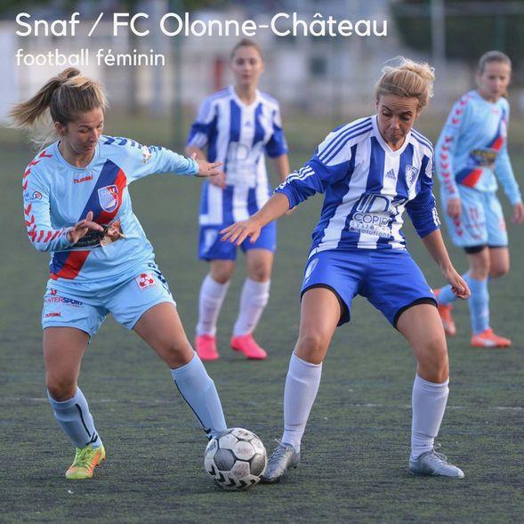 Foot.Snaf féminin / FC Olonne-Château