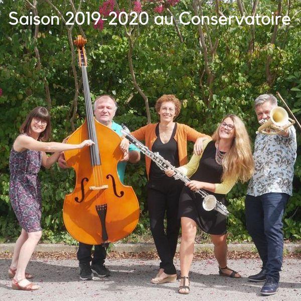 Présentation de la saison 2019-2020 du Conservatoire