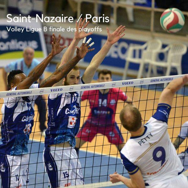 Volley Saint-Nazaire - Paris