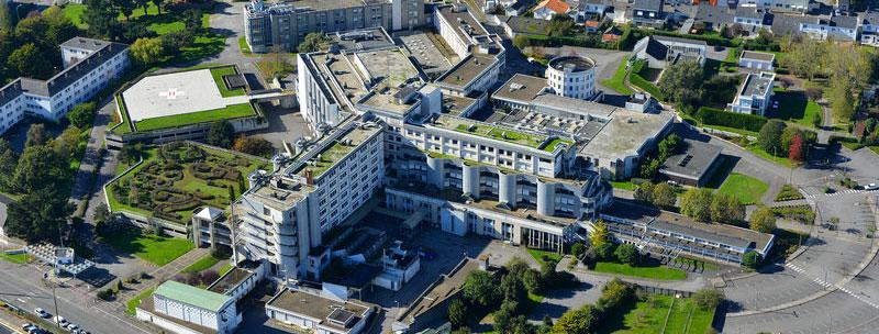 L'ancien hôpital de Saint-Nazaire sur le site du Moulin du Pé