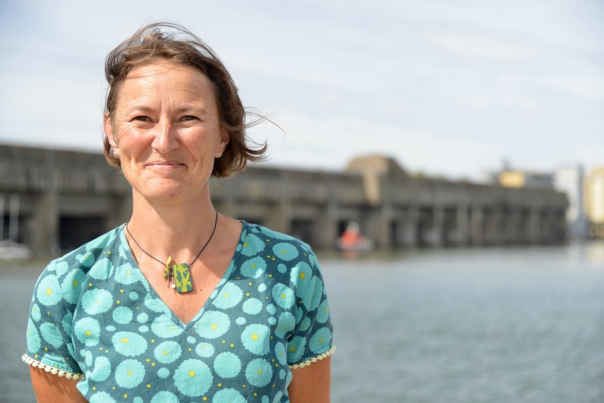 Pascale Hameau est vice-présidente de la CARENE chargée de la Transition énergétique et écologique.