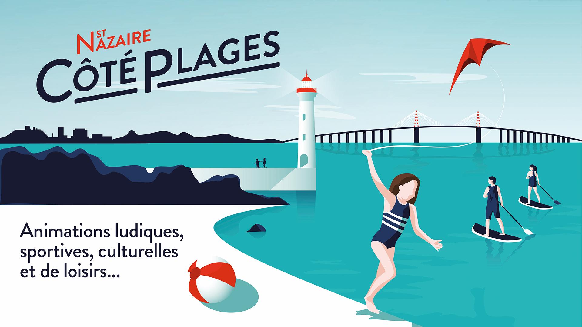Saint-Nazaire côté plages