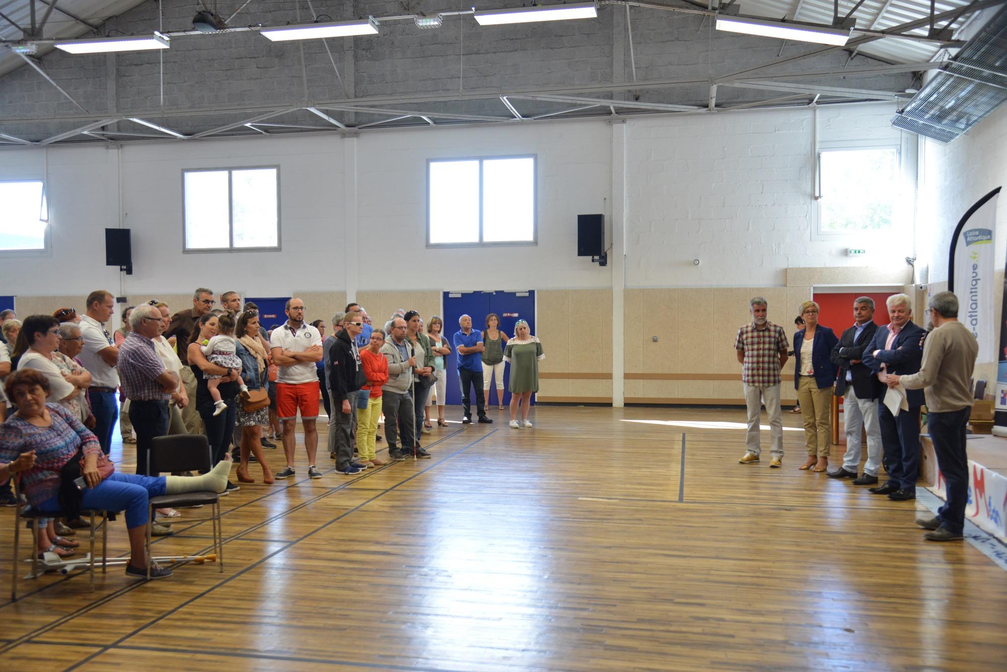 La salle de l'alerte de Méan rénovée a été inaugurée samedi 2 septembre dernier.
