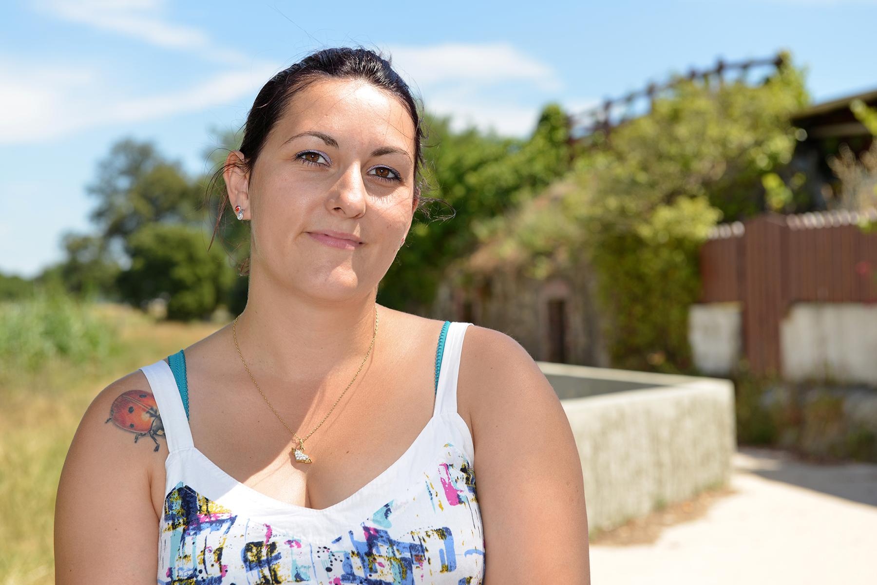Maïlys Casati, 28 ans, habitante de Méan-Penhoët, infirmière libérale