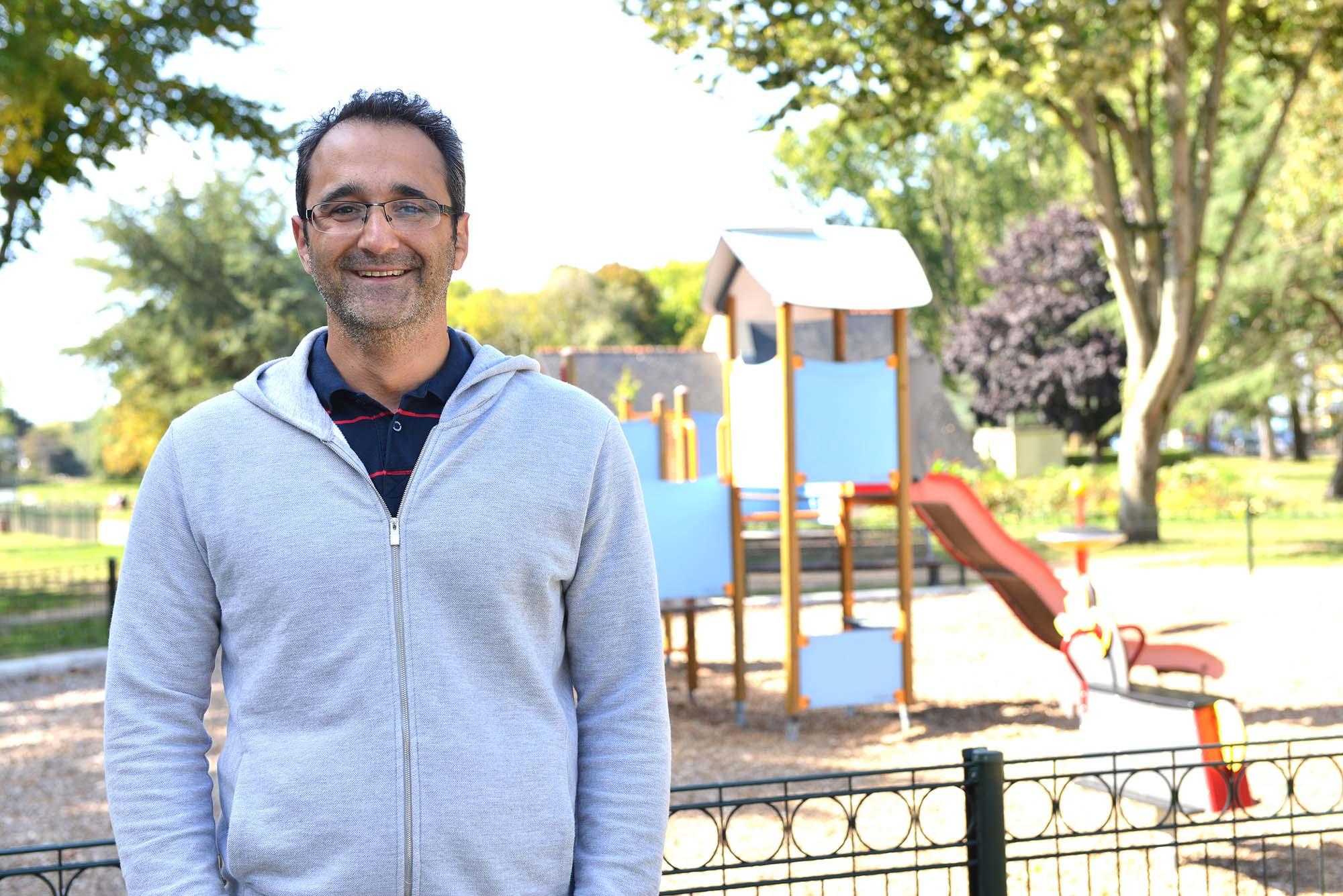 Rachid Leray, 37 ans - est support technique chez Safran et Airbus