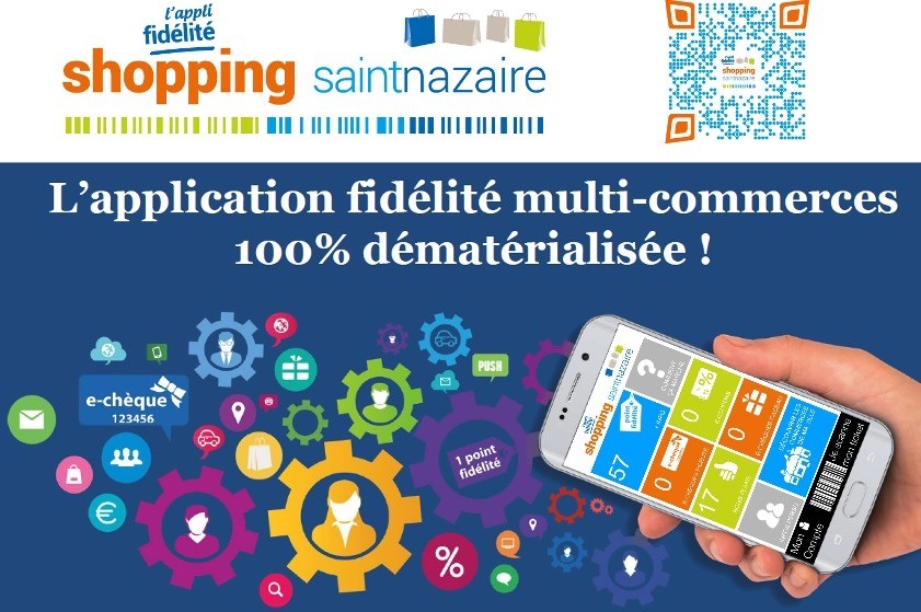 L'appli shopping Saint-Nazaire