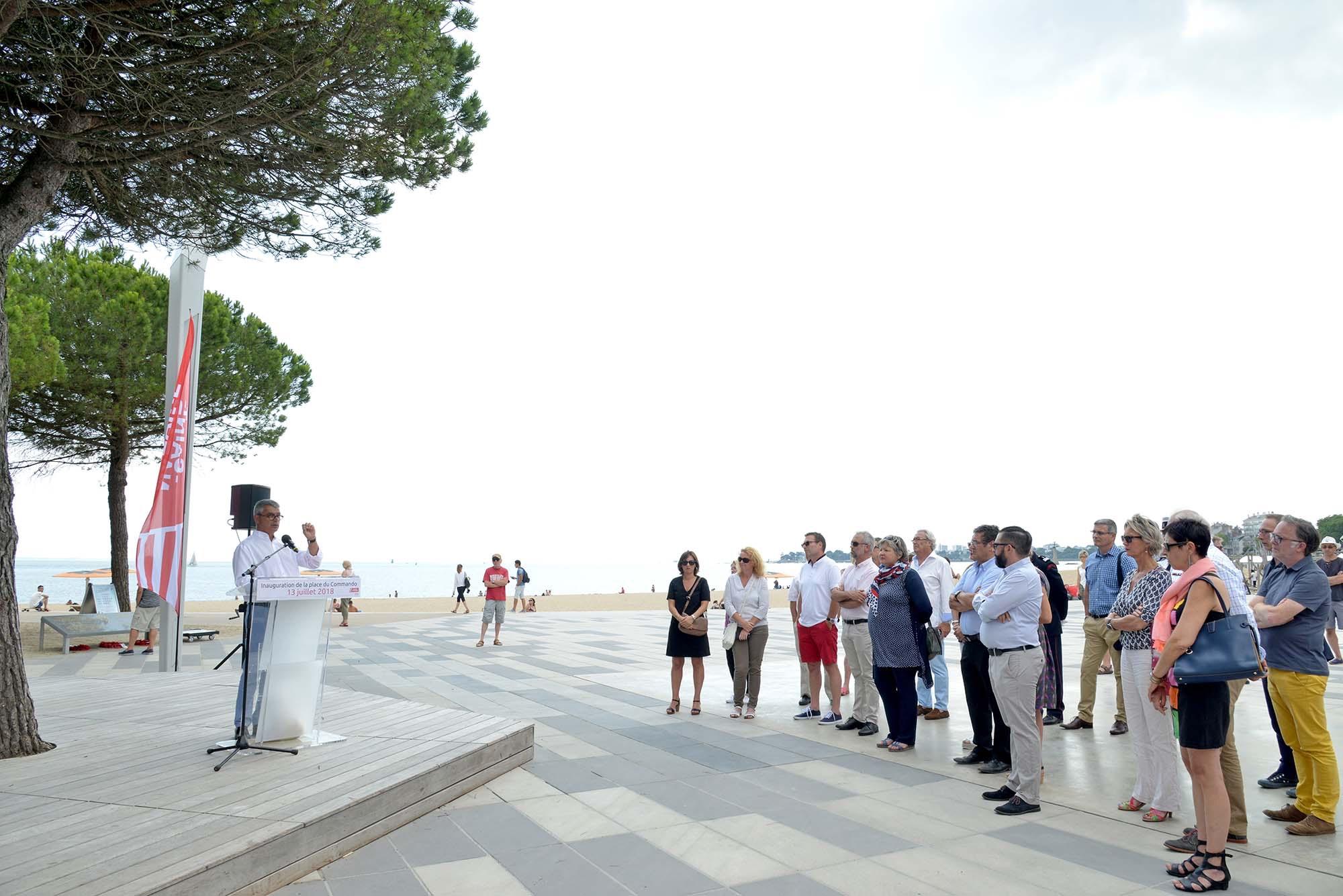 La place du commando a été officiellement inaugurée le 13 juillet dernier.