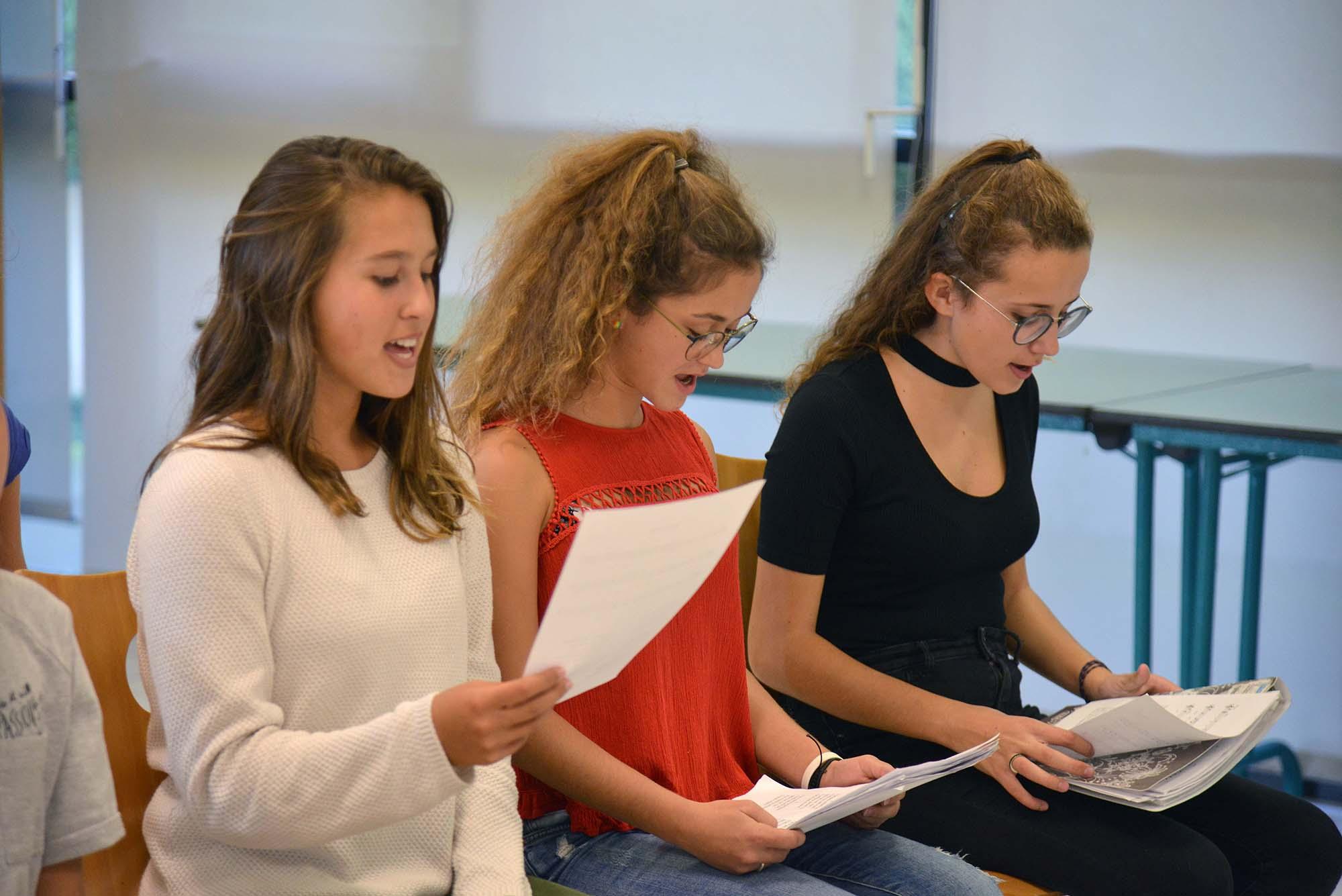 Collégiens et lycéens aiment se retrouver pour chanter. (©Ville de Saint-Nazaire - Christian Robert)