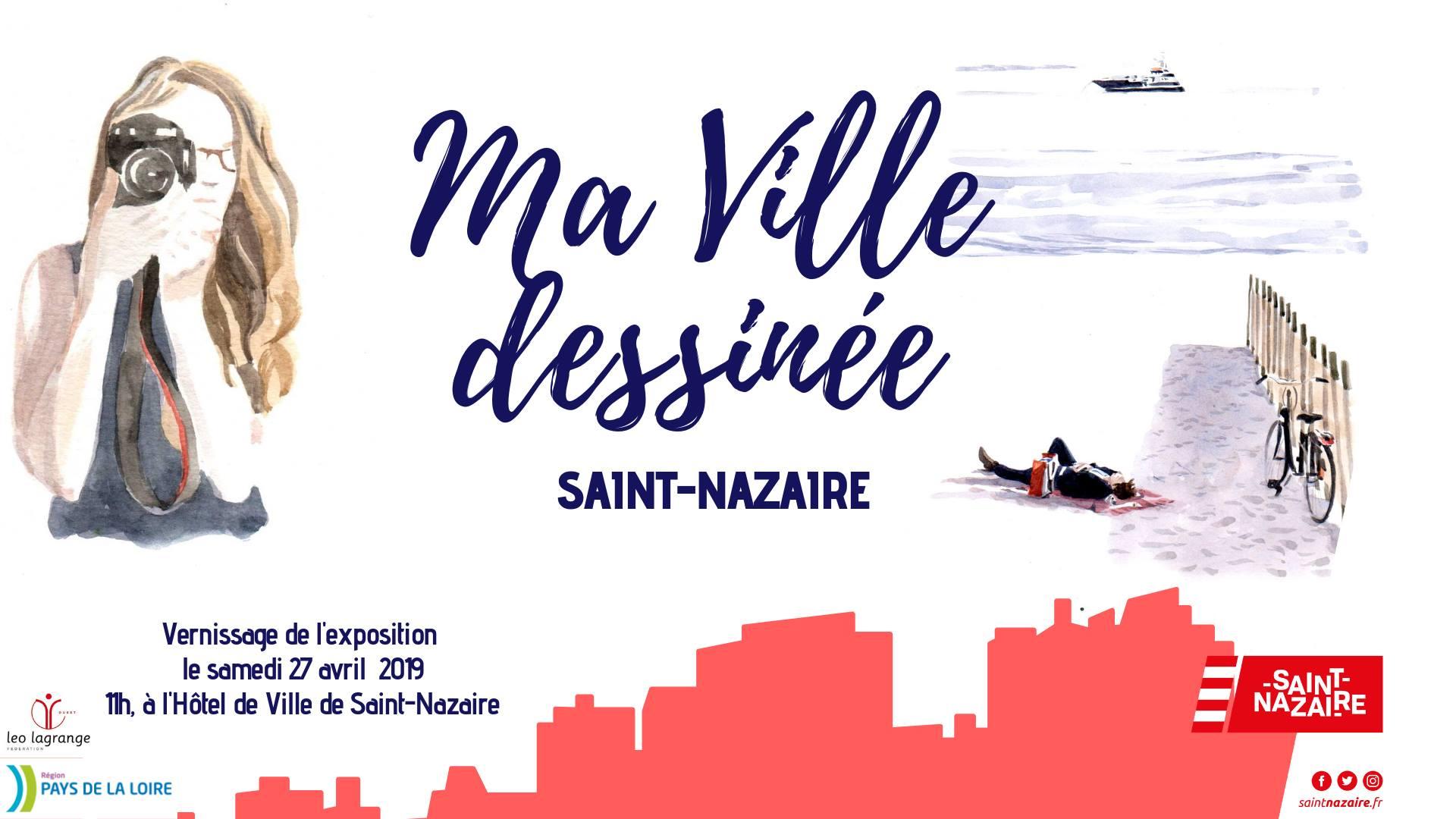 """Exposition """"Ma ville dessinée"""""""