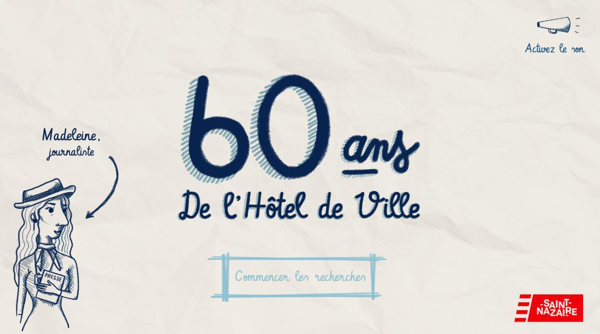 60 ans de l'hôtel de Ville de Saint-Nazaire